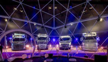 Volvo Truck Unveiling, photo by Jorrit Lousberg